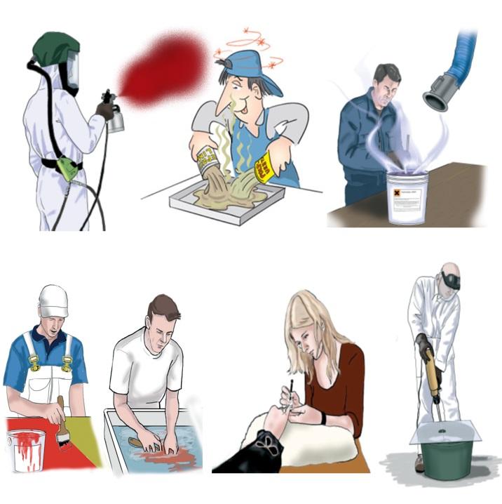 Utbildning i Härdplast och allergiframkallande produkter  SV